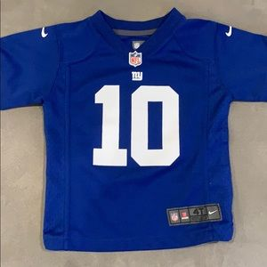 NFL Giants Football Jersey - Eli Manning 4T